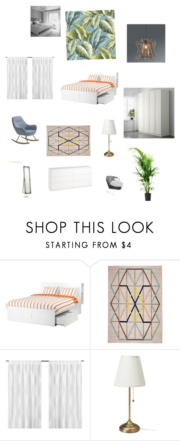 """bedroom"" by spimonique on Polyvore featuring interior, interiors, interior design, home, home decor, interior decorating and bedroom"