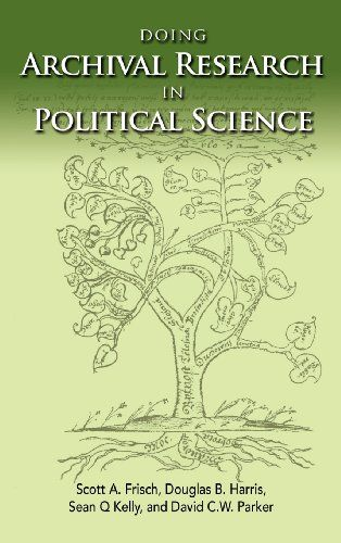 Doing Archival Research in Political Science (Politics, Institutions, and Public Policy in America) by Scott A. Frisch http://www.amazon.com/dp/1604978023/ref=cm_sw_r_pi_dp_ZH-gvb0WFYKMQ
