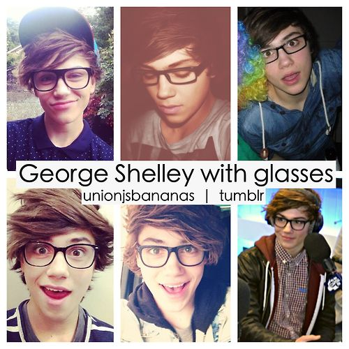 unionjsbananas:  George Shelley + Glasses