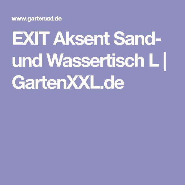EXIT Aksent Sand- und Wassertisch L | GartenXXL.de