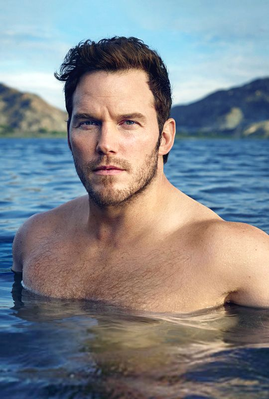 Chris Pratt photographed by Mark Seliger for Vanity Fair.