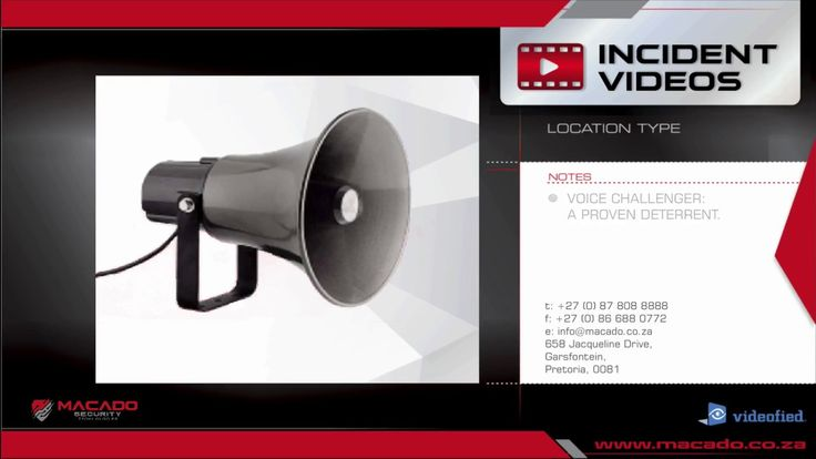 #2: HOME: Voice Challenge- Macado Incident Video