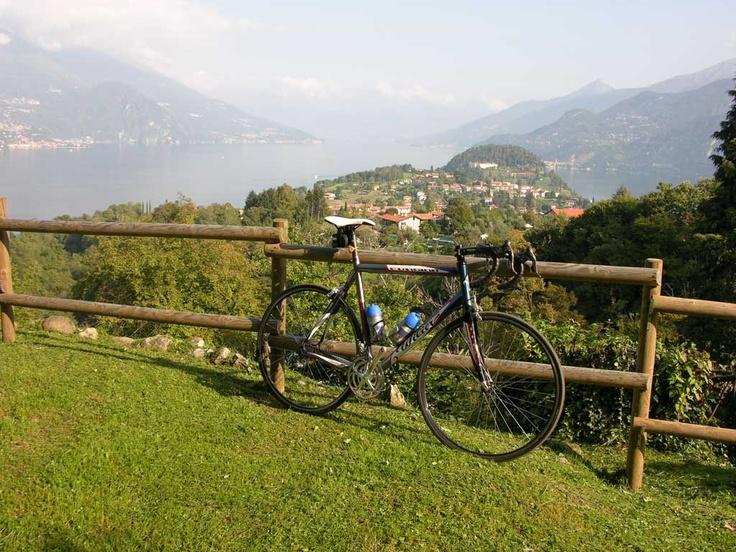 Road Bike on the Ghisallo..
