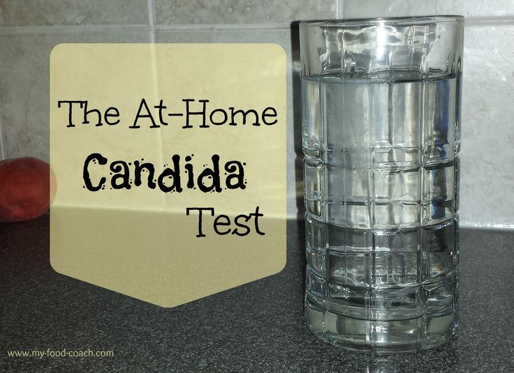 The At Home Candida Test | my food coach