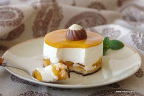Mousse yogurt y mango