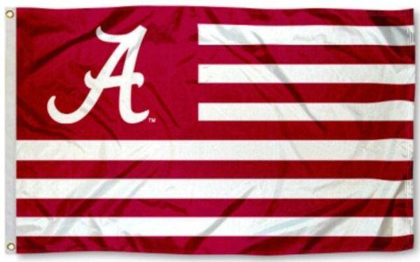 3X5 Alabama Football Flag
