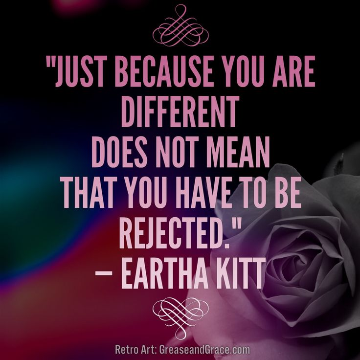 Eartha Kitt quote. Retro quotes by Grease and Grace.