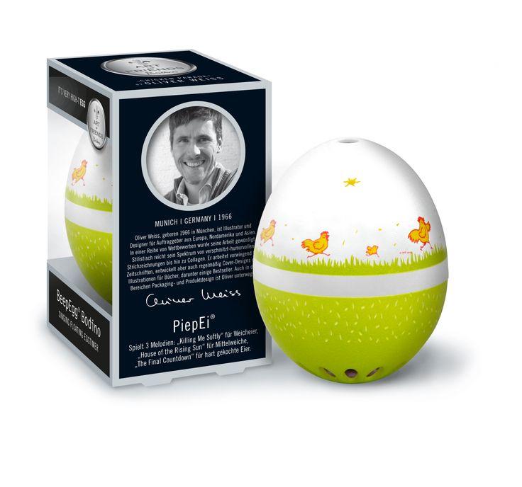 #Minutnik do gotowania jajek - #BeepEgg Bodino by Weiss - #Decosalon #design #dizajn #eggs #egg #easter #wielkanoc #brainstream