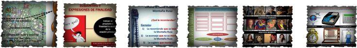 presentaciones de gramatica del programa de Español para Extranjeros-- by levels