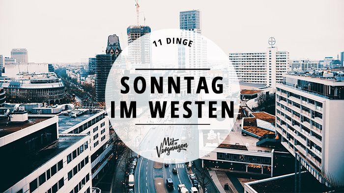 Sonntag ist Ruhetag. Aber wer Berlin kennt, der weiß, dass hier nie wirklich Ruhe ist. Egal, ob ihr es entspannt oder aufregend mögt.