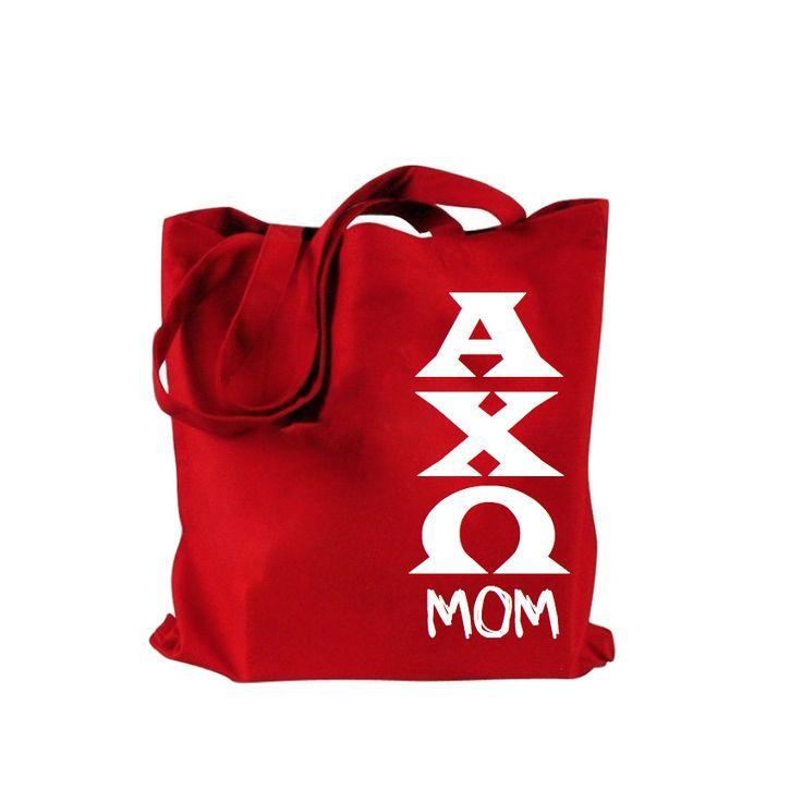 Alpha Chi Omega Bag . Mom Tote