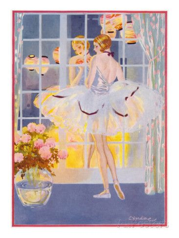 Time for Reflection by Elsie Harding Stampa giclée