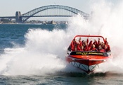My 8 year old daughter said this was better than Disneyland!! Oz Jetboating, Sydney Harbour, Australia