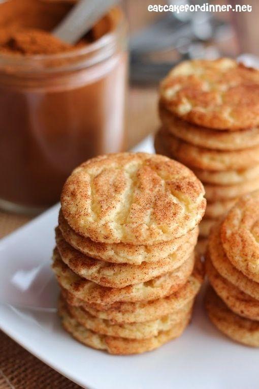 Mrs. Sigg's Snickerdoodles | Breads & Desserts | Pinterest