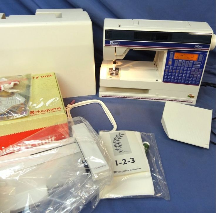 Husqvarna viking rose sewing and embroidery machine model