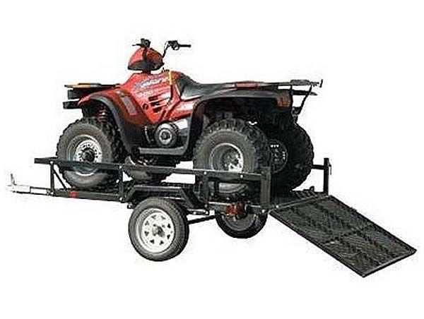 Sportstar I ATV and Utility Trailer with Ramp