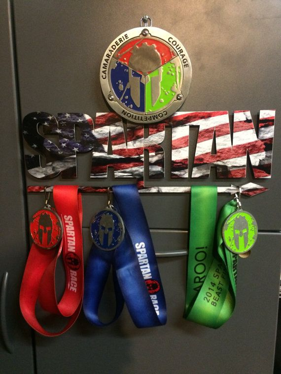 SPARTAN Race style Trifecta holders American flag/ CAMO ...