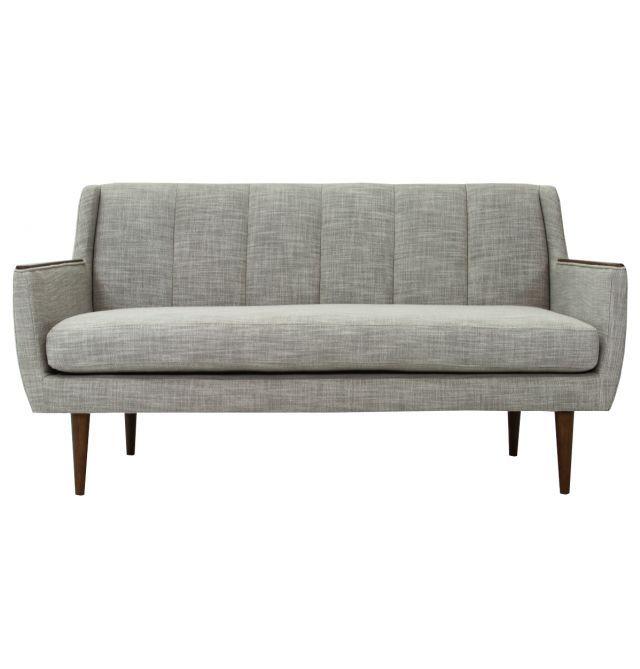 Cincinnati Fabric 2 Seater Sofa Light