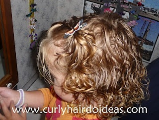 Curly Hairdo Ideas Toddler Hair Twists To Ponytail