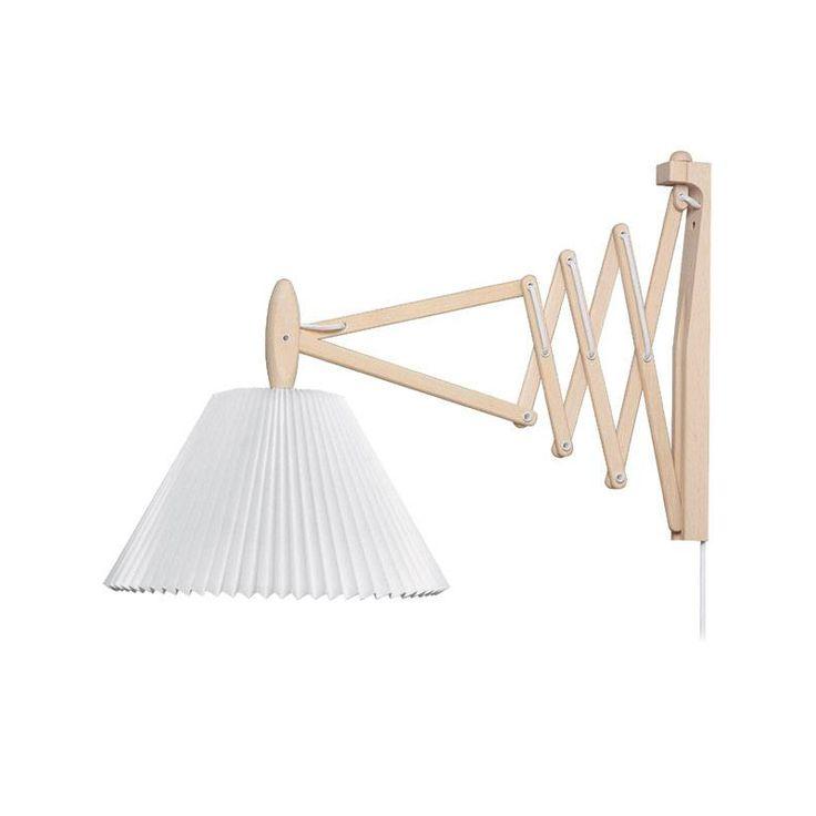 Le Klint 334 Saxlampa med plastskärm 60 cm, Ek