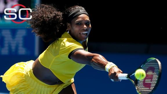 Australian Open 2016 - Serena Williams doesn't lose a step in Aussie debut
