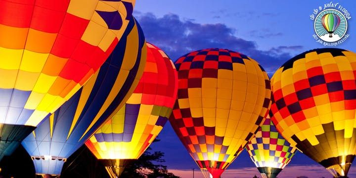 New Mexico Balloon Festival 2020.Up Up And Away Florida Hot Air Balloon Festival Tickets Fri