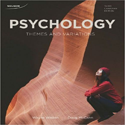 CDN ED Psychology Themes And Variations 3rd Edition By
