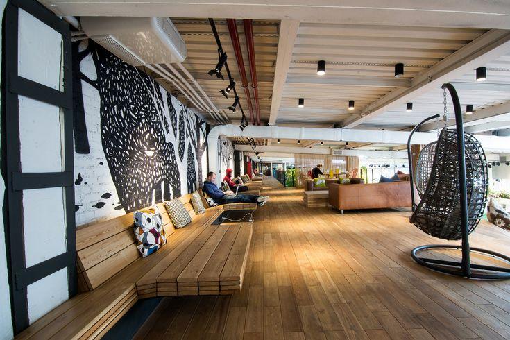 Фотография:  в стиле Лофт, Декор интерьера, Офисное пространство, Декор дома, креативный офис, рабочее пространство, action loft, action, эколофт – фото на InMyRoom.ru