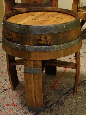 Wine Barrel Coffee Table For The Home Pinterest