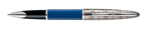 Waterman Carene Contemporary Blue And Gunmetal ST Rollerball Pen