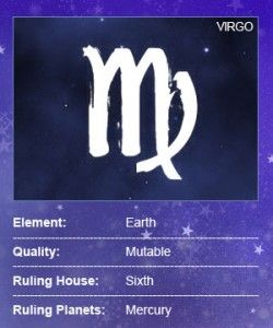 #Virgo August 23 - September 22 Virgo is the sixth sign of the zodiac, to be exact, and thats the way Virgos like it: exacting. Read more at Astrology.com #horoscope #astrology