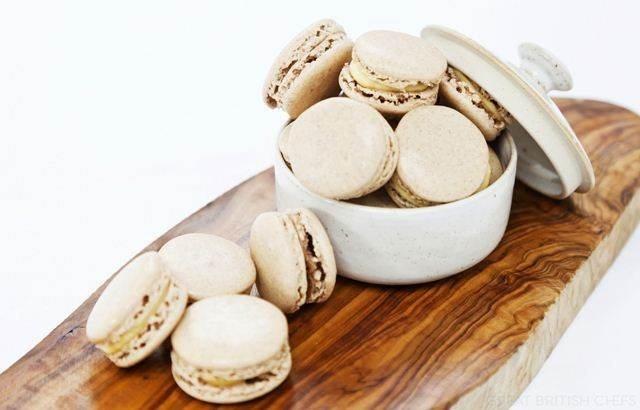 Cinnamon macarons -  Galton Blackiston
