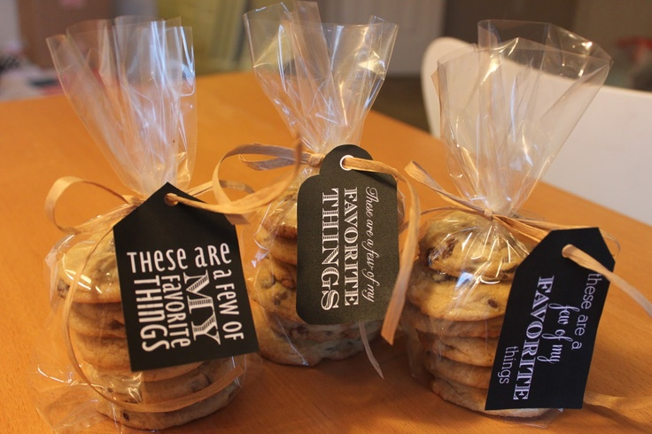 love: packaging baked goods for friends!