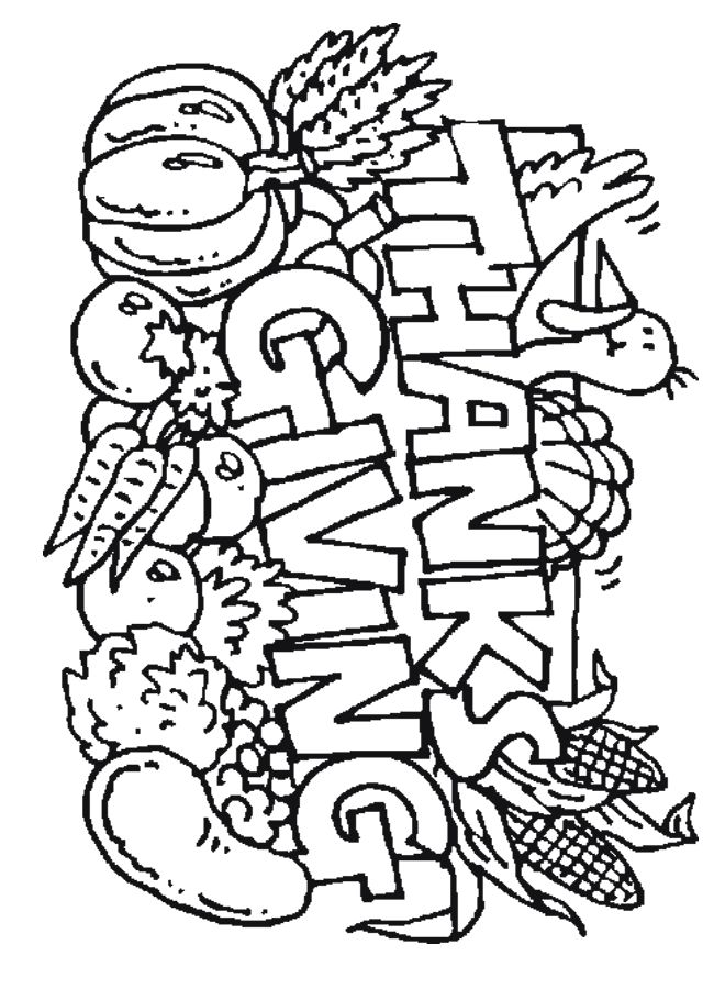 thanks giving that you can coler of thanksgiving type images for you to print out - Pictures You Can Color And Print