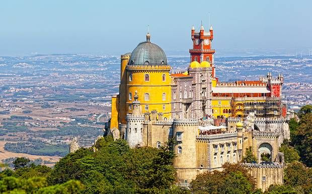 Sintra is one of Portugal's most beautiful and enchanting towns, with fairytale castles and quirky attractions. It makes a great day trip from Lisbon.