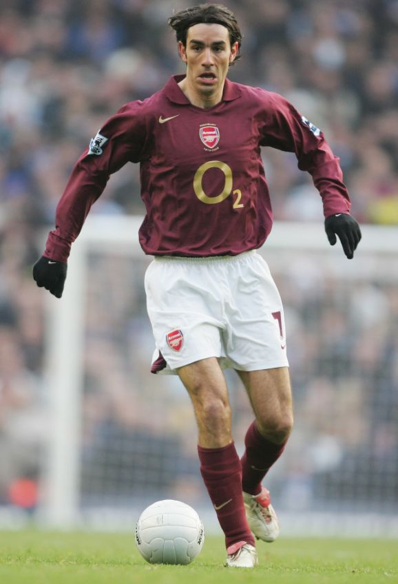 From the Arsenal Invincible's, Robert Pires