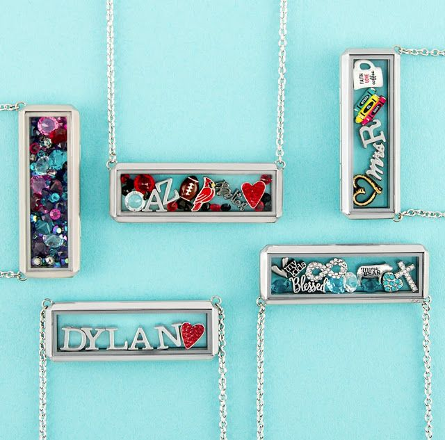 Origami Owl Silver Bar Living Locket available at StoriedCharms.com