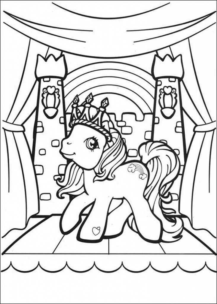 My Little Pony Coloring Pages MLP For Kids