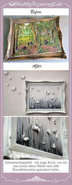 die 25 besten ideen zu verzieren bilderrahmen auf pinterest bilderrahmen w nde foto. Black Bedroom Furniture Sets. Home Design Ideas