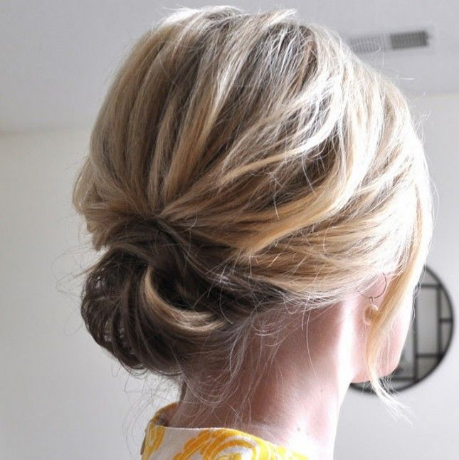 Fine 1000 Ideas About Bob Updo Hairstyles On Pinterest Updo Short Hairstyles Gunalazisus