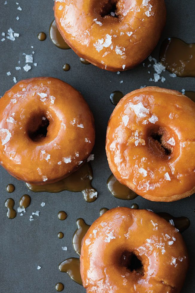 Salted Caramel Doughnut Recipe | Williams Sonoma Taste
