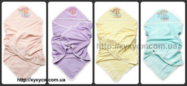 полотенца после купания с капюшоном