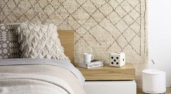 Doe het eens anders: hang je tapijt aan de muur