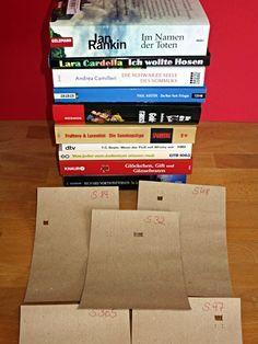 Heute möchte ich euch das letzte Spiel des Detektivgeburtstags vorstellen: Es ging um Bücher.   Ein letztes Mal haben sich die Kinder in zwe...
