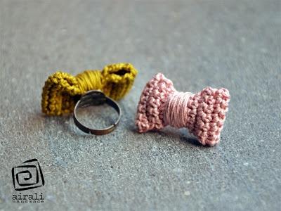 anillo con lazo