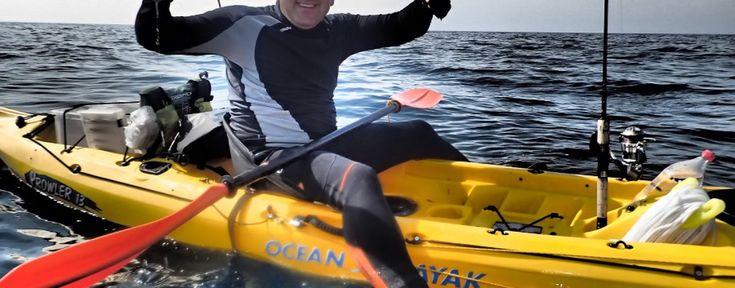 De que nos equipamos para ir de pesca en kayak