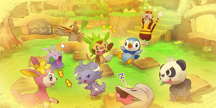 pokemon super mystery dungeon images | The official Japanese Pokemon Super Mystery Dungeon website was ...