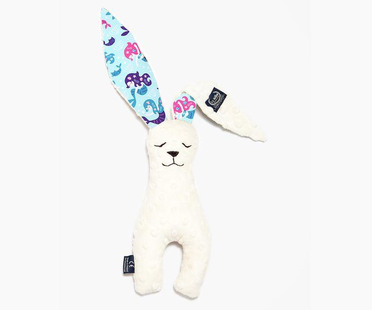 Small Bunny Ecru - Mermaid παιχνιδάκι λαγός