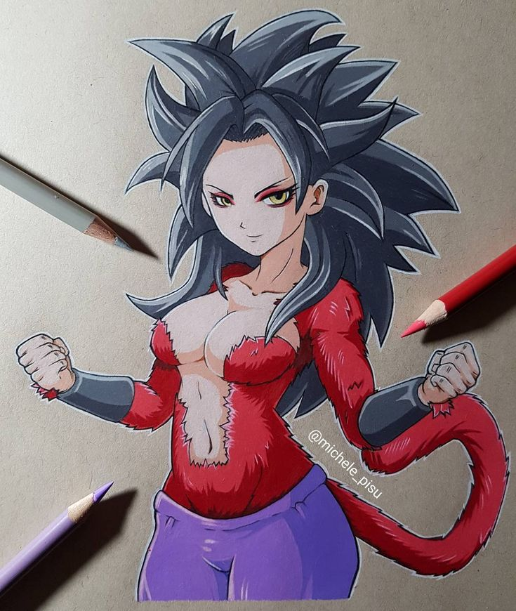 Caulifla Super 4 #dragonballsuper #dragonball #pencils