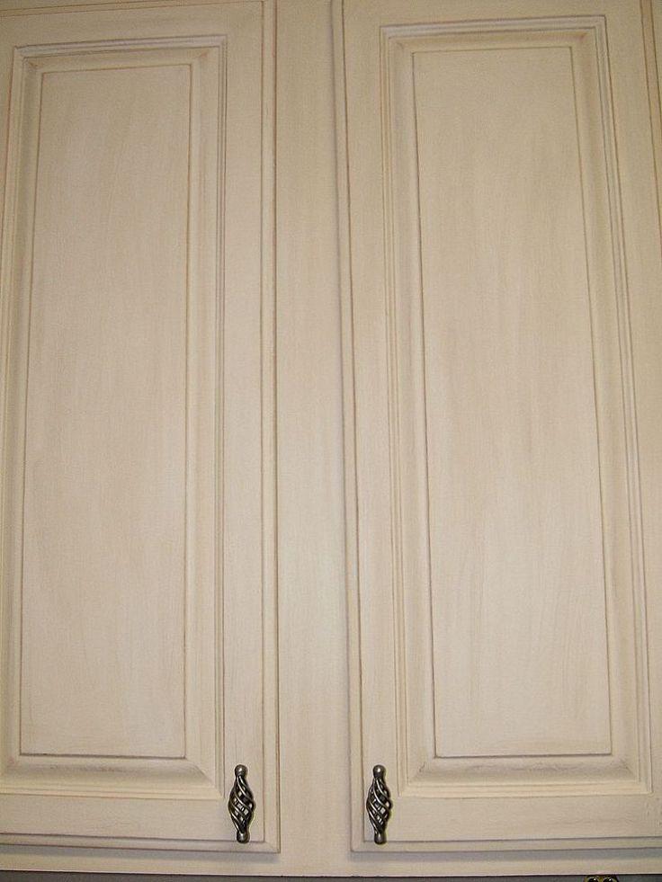 Best Kitchen Cabinet Remake Pickled To Beachy Whitewash 400 x 300